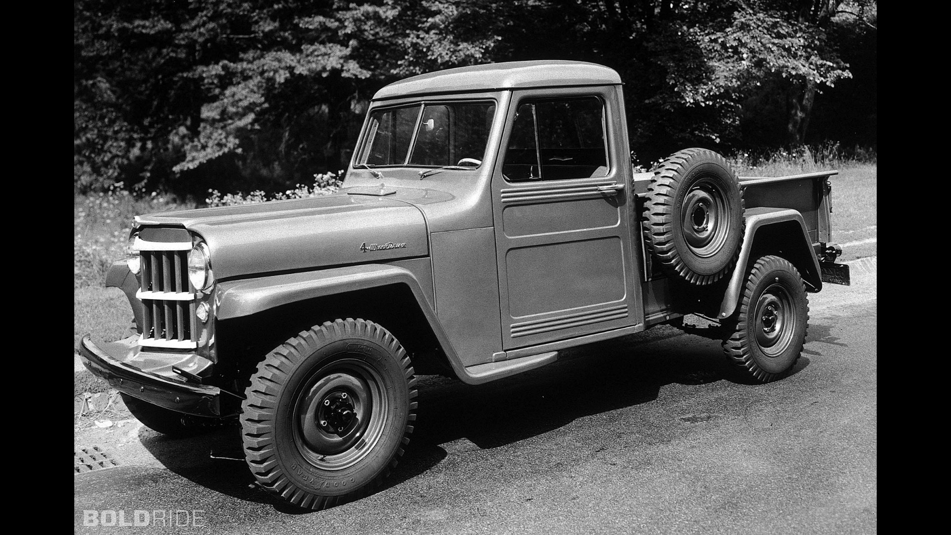 jeep 4wd one ton pickup truck. Black Bedroom Furniture Sets. Home Design Ideas