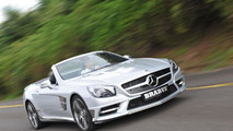 Brabus tunes the 2013 Mercedes SL-Class
