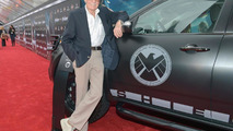 Stan Lee with S.H.I.E.L.D. Acura MDX 13.4.2012