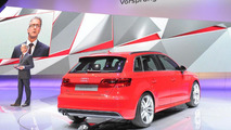 2013 Audi A3 Sportback world debut at Paris Motor Show
