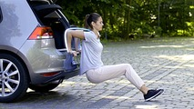 VW shows how to stay fit during a road trip