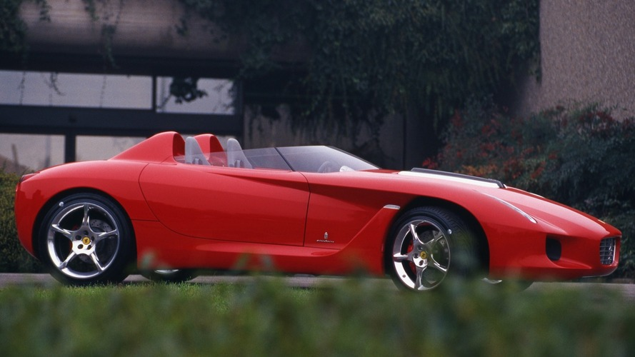 Concept We Forgot: 2000 Ferrari Rossa