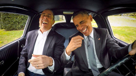 'Comedians in Cars Getting Coffee' is moving to Netflix