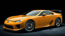 Lexus LFA Nürburgring Performance Package Officially Announced