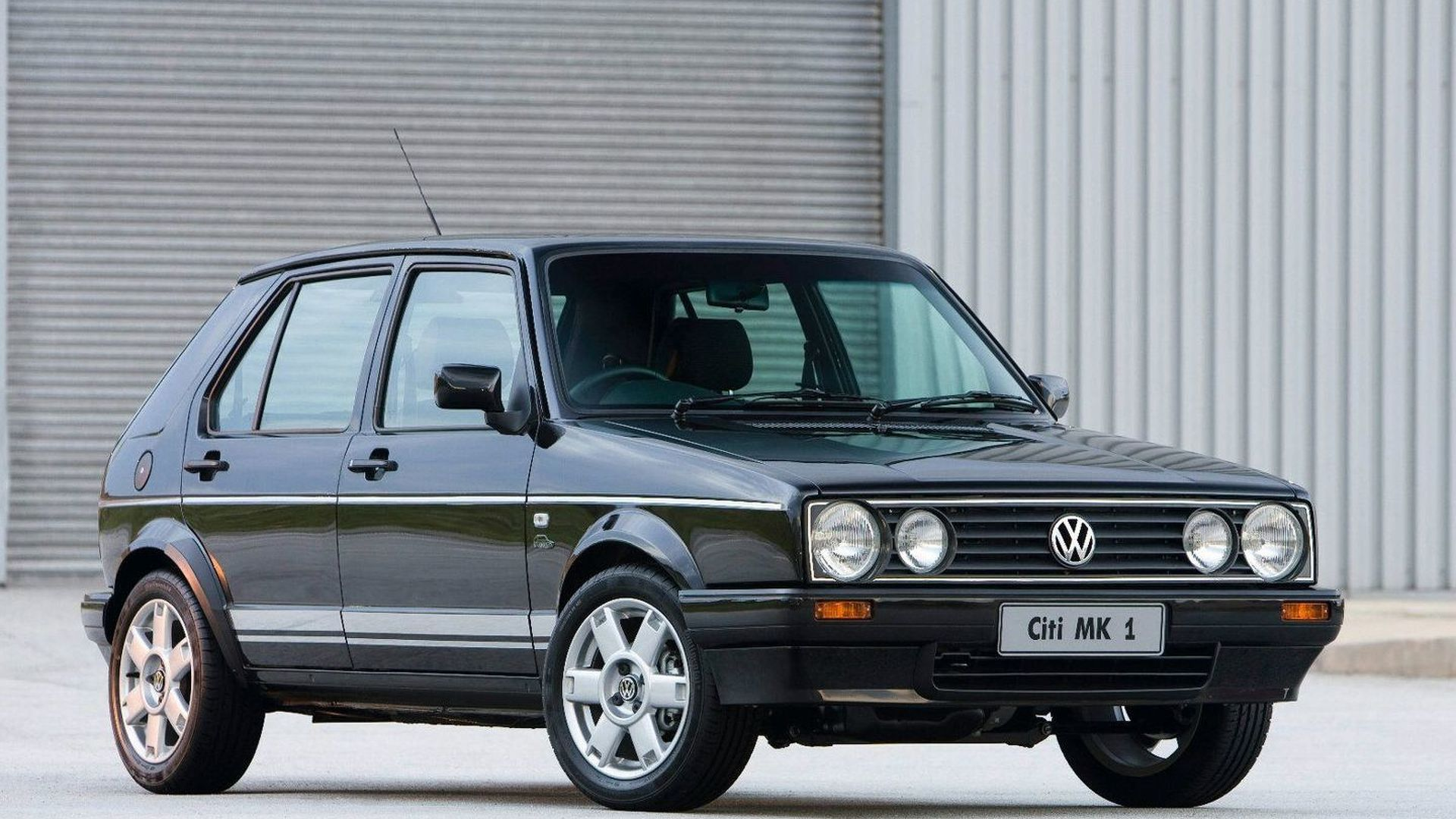 VW Ends Golf I Production in South Africa with Citi Golf Mk1 Limited Edition