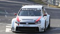 Volkswagen Golf24 testing on the Nürburgring