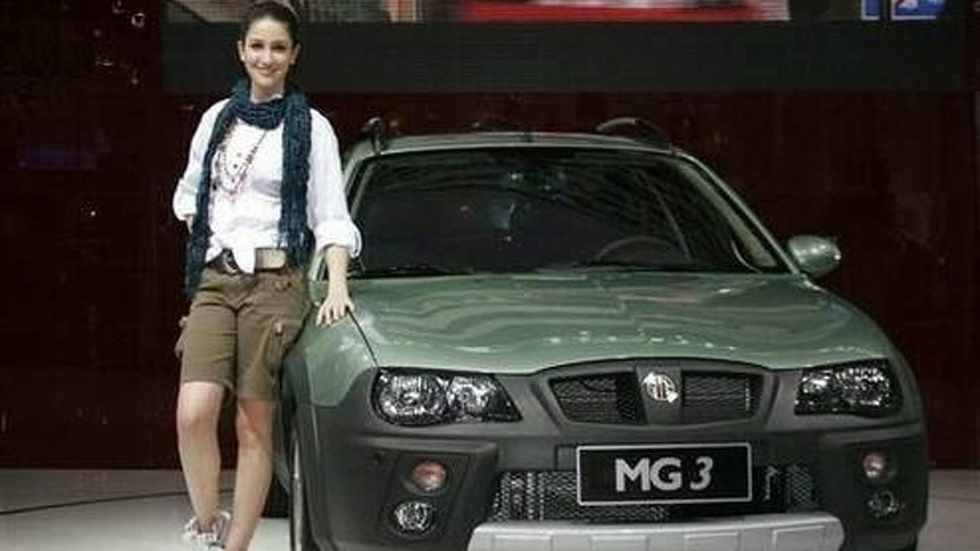 MG3 Crossover Debut at Guangzhou Motor Show