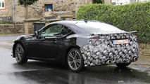 Toyota GT86 facelift spied hiding several styling updates