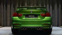 BMW M4 Java Green