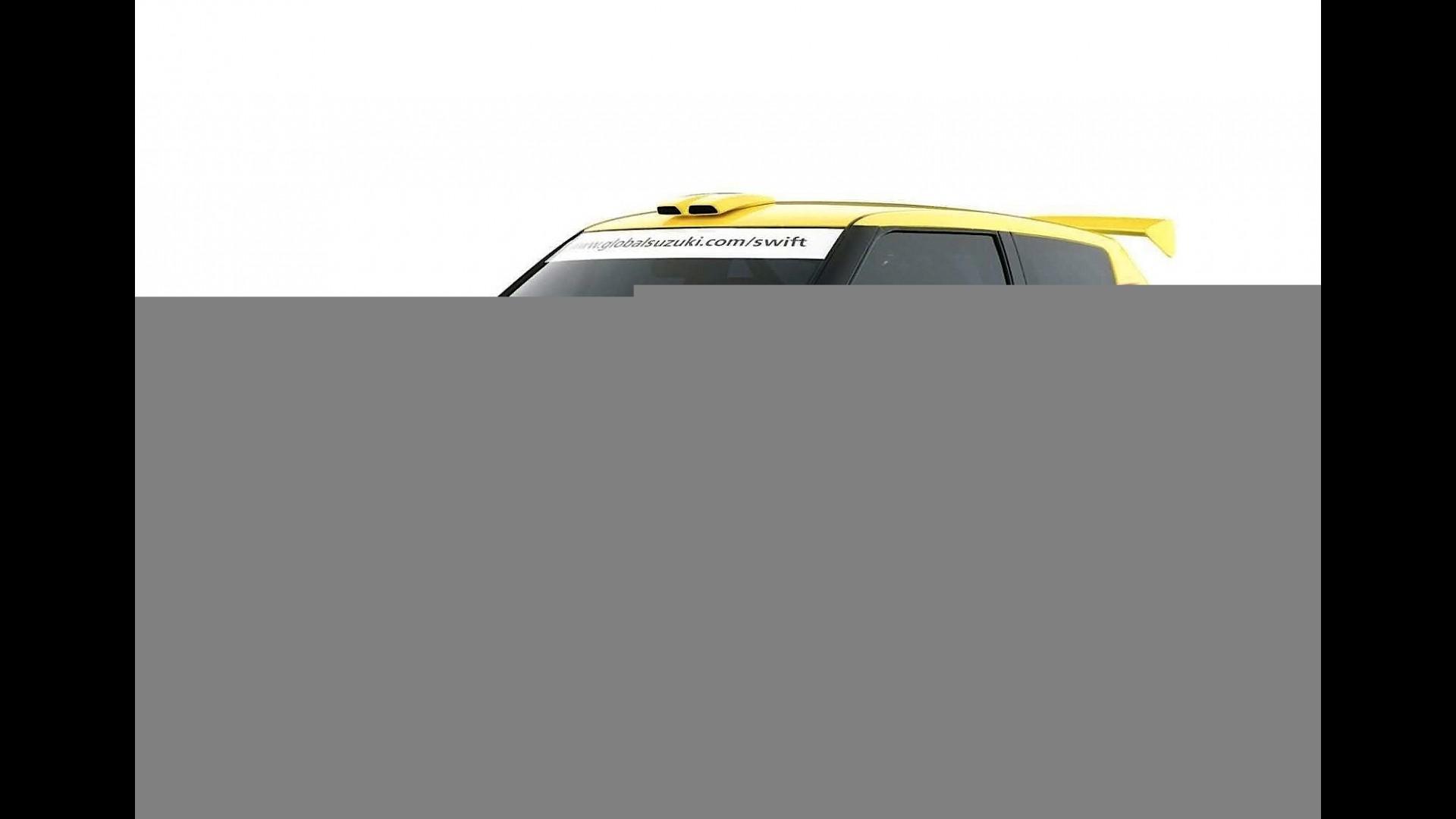 Suzuki Swift Rally Car