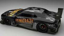 Le Mans Dodge Challenger 2009 - 3D rendering