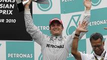 Rosberg 'close' to maiden F1 win - Brawn