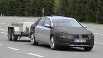 2012 Volkswagen Passat full body prototype first spy photos