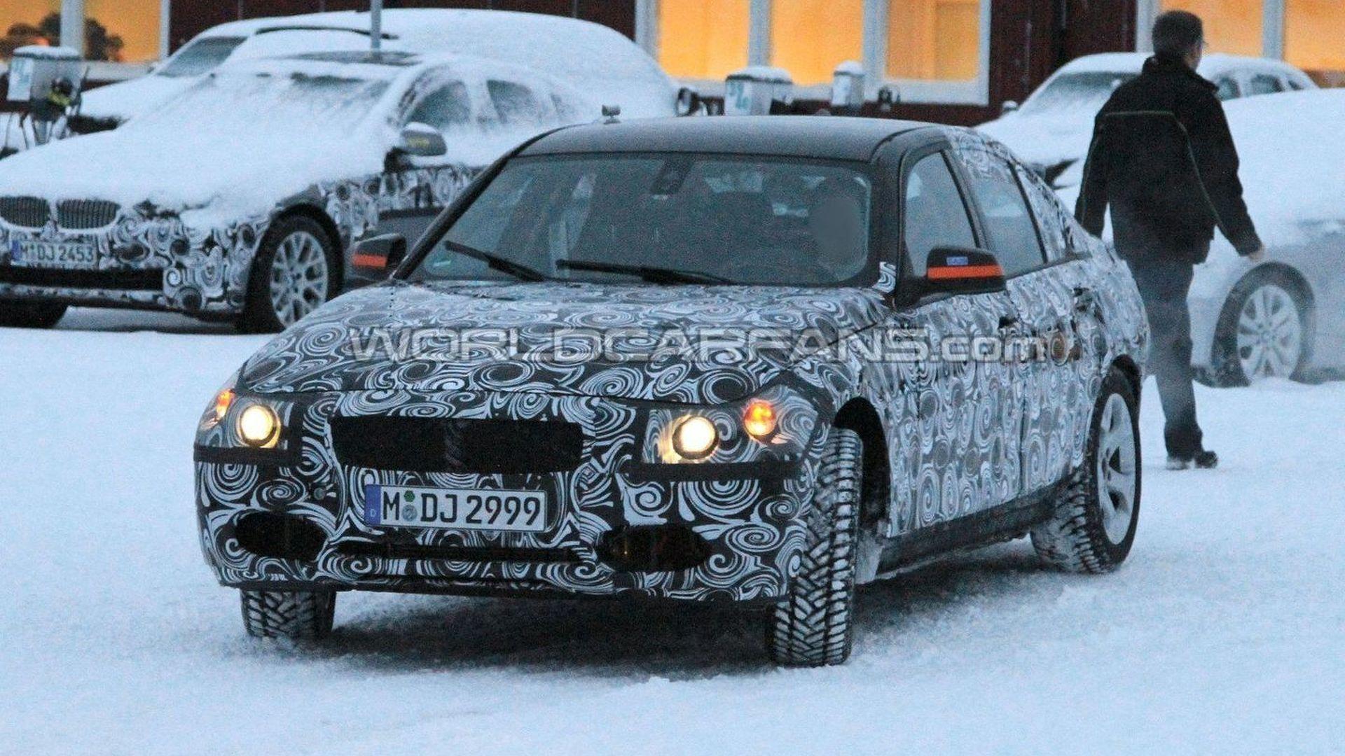 2012 BMW 3-Series F30 Latest Winter Test Spy Photos