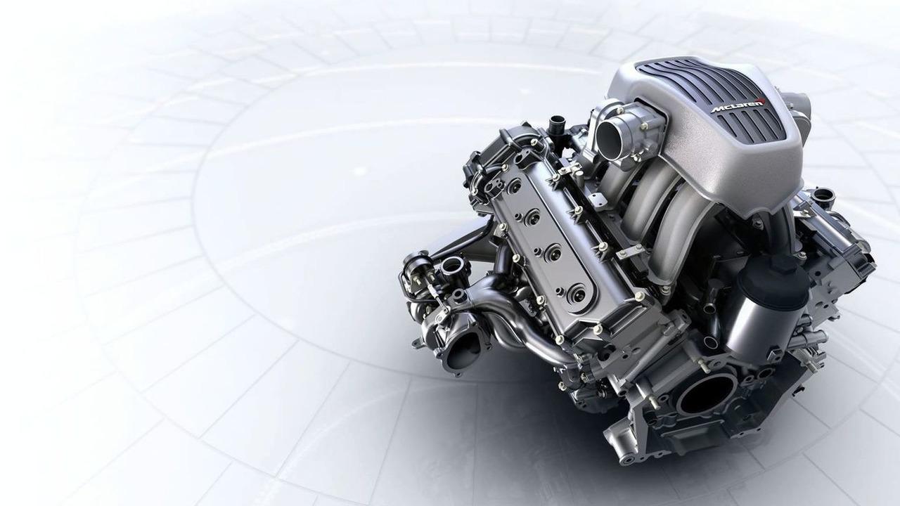 McLaren 12C Engine