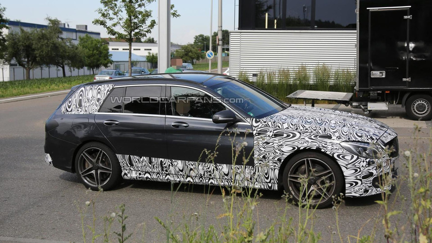 Mercedes-Benz C63 AMG Estate sheds some camo in latest spy pics
