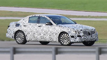 Next generation Mercedes-Benz E-Class spied for the first time with its own body