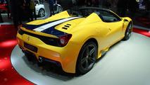 Ferrari 458 Speciale Aperta at 2014 Paris Motor Show