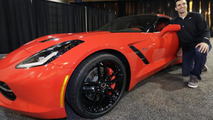 Super Bowl MVP Joe Flacco awarded a 2014 Corvette Stingray