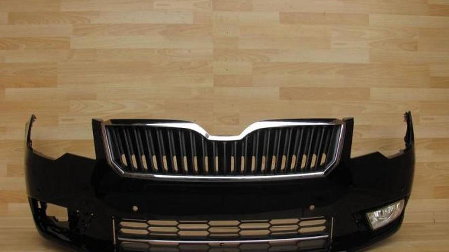 2013 Skoda Superb bumper pops up online