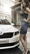 New Skoda VisionD concept images released - previews next generation Octavia?