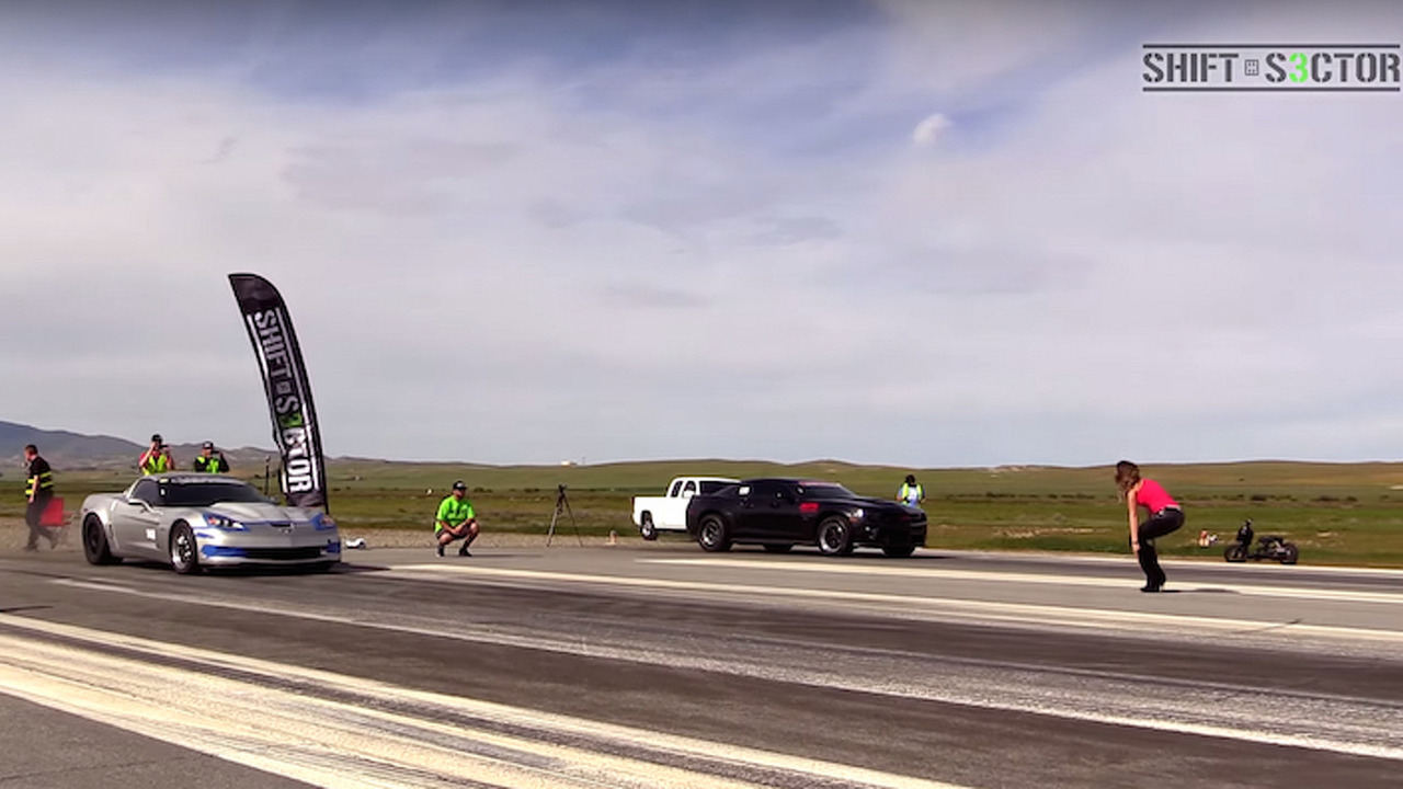 Family Feud: Modified Corvette Z06 Takes on Modified Camaro SS