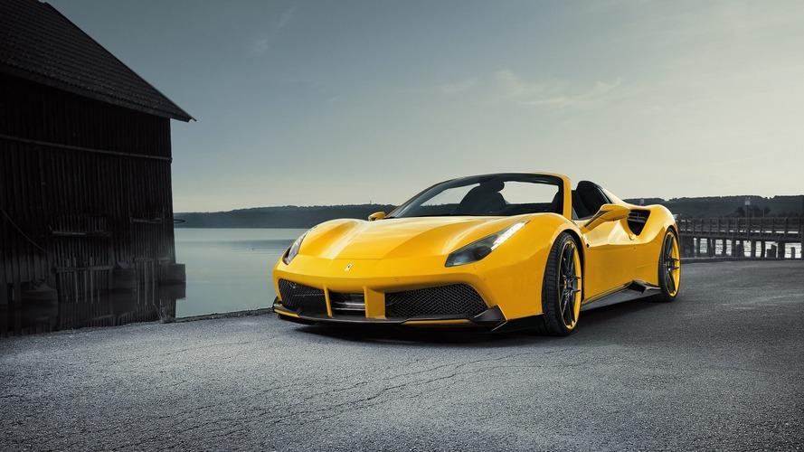 Novitec tunes Ferrari 488 Spider to 772 horsepower