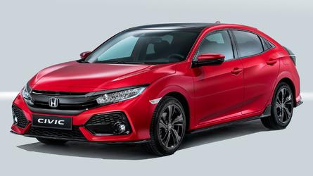 2017 Honda Civic Hatchback debuts in Euro guise