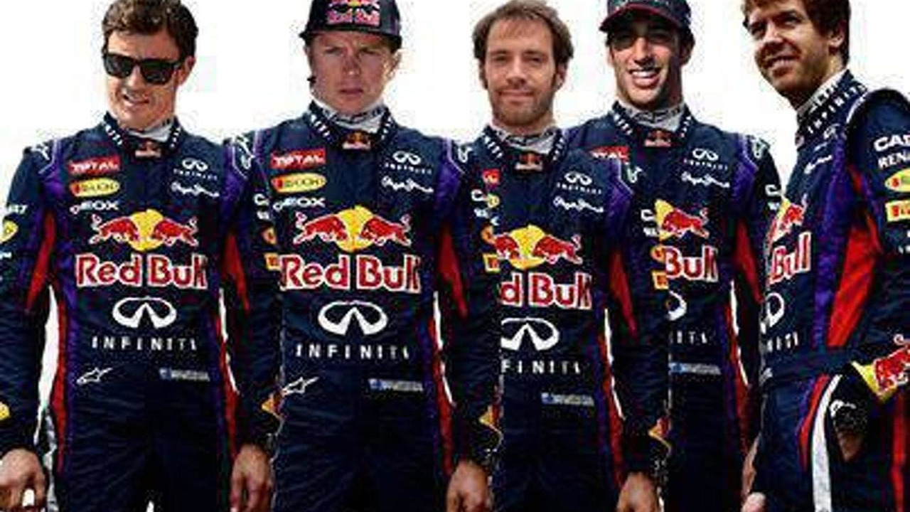 Red Bull 2014 driver speculation rendered illustration