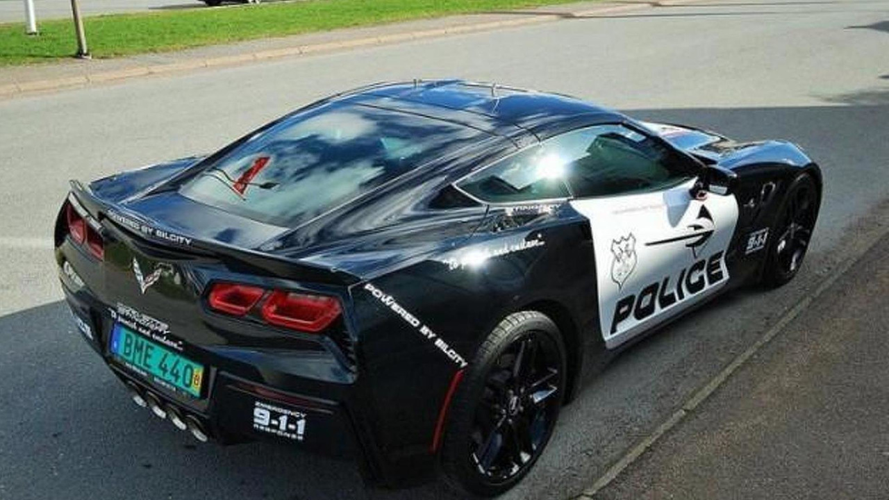 2014 Chevrolet Corvette Stingray with police livery for sale
