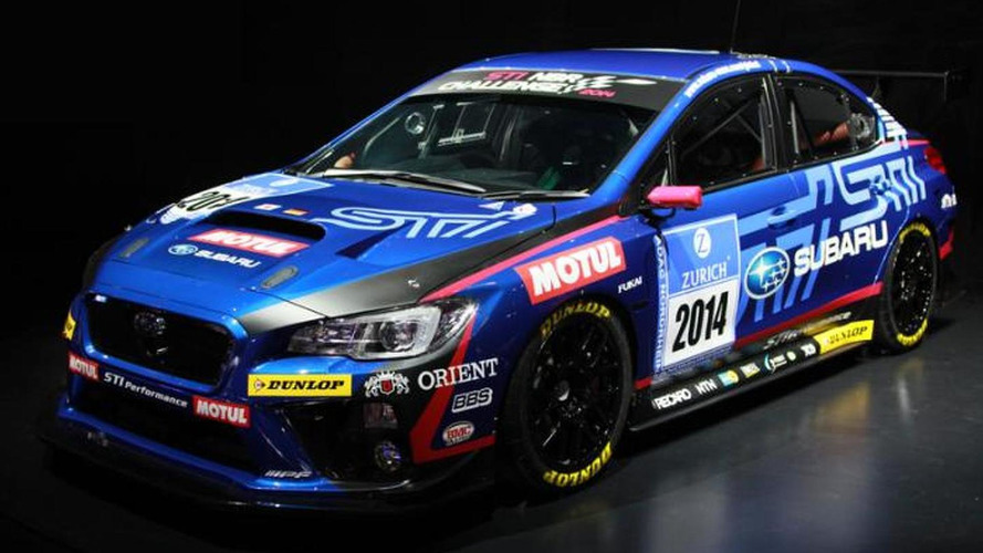 Subaru WRX STI NBR Challenge revealed, will compete in the Nürburgring 24 Hour Race