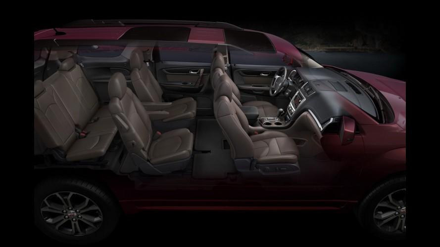 Salão de Chicago: GMC atualiza visual do SUV Acadia