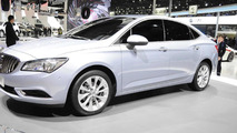 2016 Buick Verano makes world premiere in Shanghai