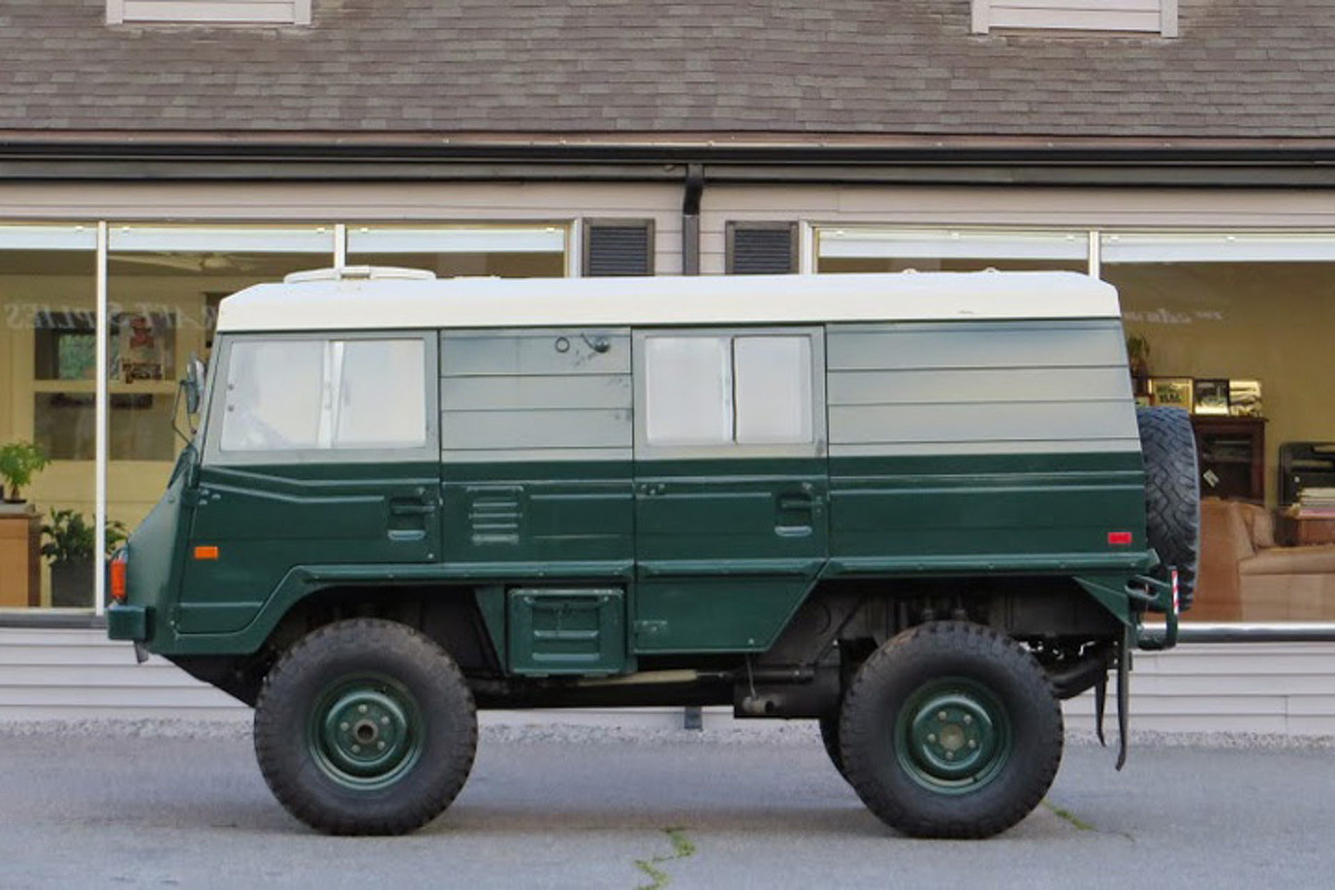 Protect the Neighborhood in this Pinzgauer Troopy