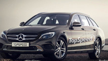 Mercedes Allroad competitor gets rendered