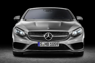2015 Mercedes-Benz S-Class Coupe has Swarovski Crystal Headlights
