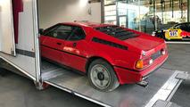 1981 BMW M1 barn find