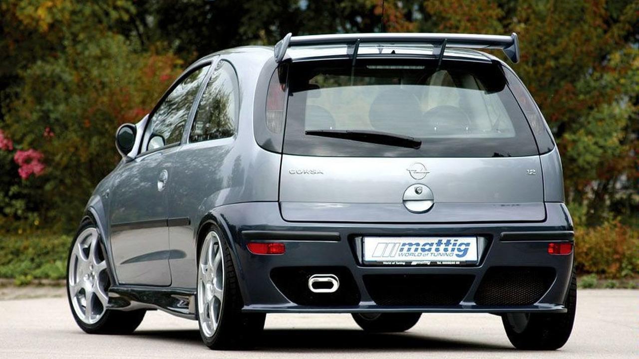 Mattig Opel Corsa C