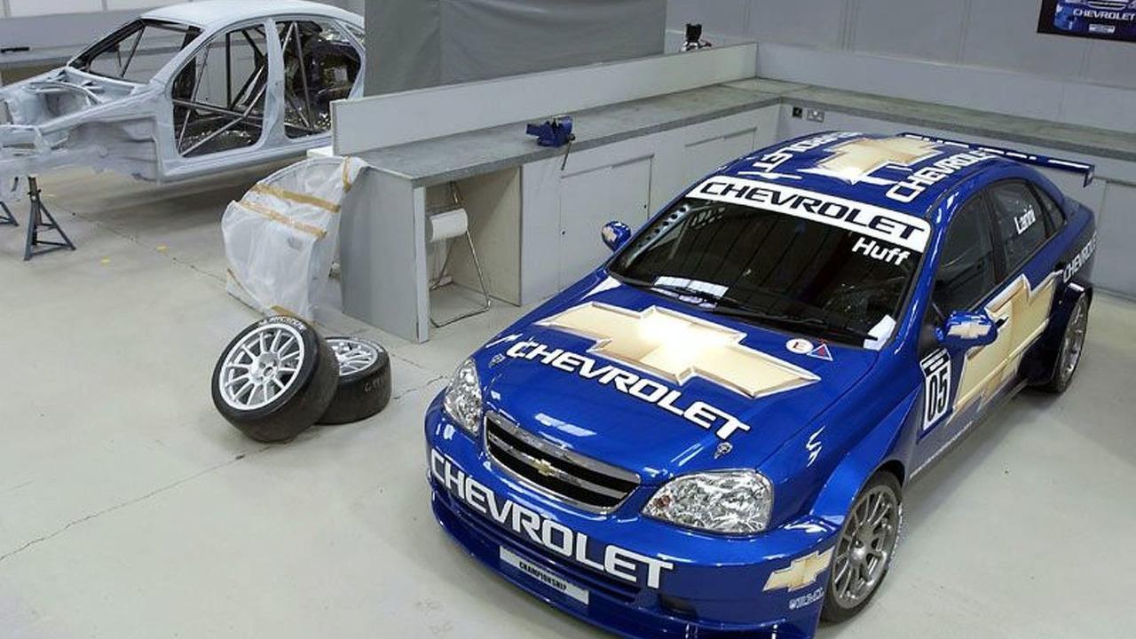 Build of Chevrolet Lacetti WTCC