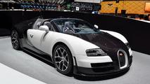 Bugatti Grand Sport Vitesse at 2014 Geneva Motor Show
