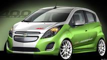2014 Chevrolet Spark EV concept 25.10.2013