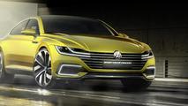 Volkswagen Sport Coupe Concept GTE premieres in Geneva