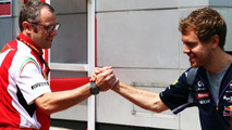 Domenicali says he quit F1 and called Vettel