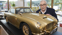 Gold plated Aston Martin DB5 scale model to fetch $100k at auction