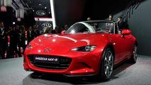 All-new 2016 Mazda MX-5 live at Paris Motor Show