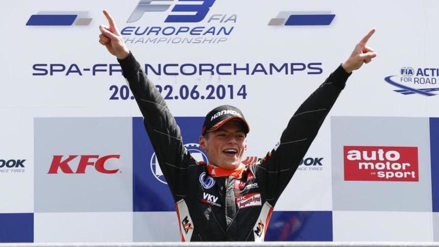 Drivers back teen rookie Verstappen