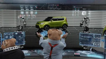 Kia Soul EV Commercial featuring the iconic hamsters