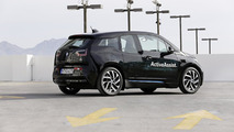 BMW i3 with self-parking and collision avoidance systems