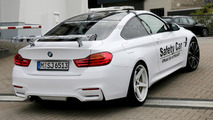 Possible BMW M4 GTS spied again