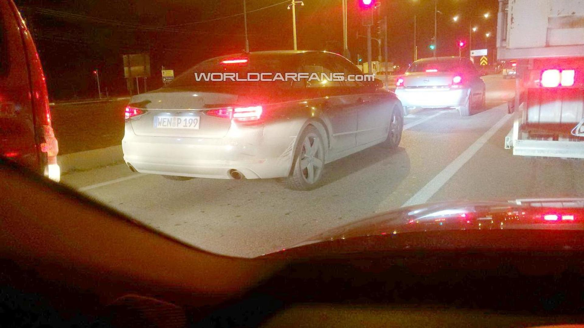Next-gen Audi A4 spied with no camouflage by WCF reader